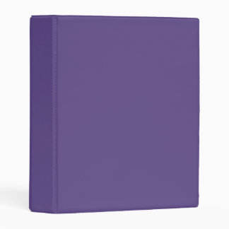Ultra Violet Mini Binder