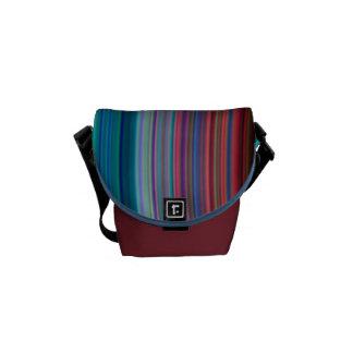 Ultra-Violet Rings Courier Bag