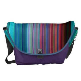 Ultra-Violet Rings Messenger Bags