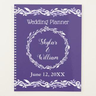 Ultra Violet Wedding Simple Planner Journal