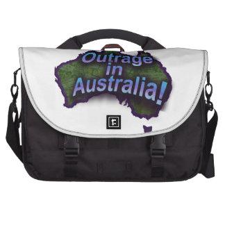 ¡Ultraje en Australia! Bolsas De Ordenador