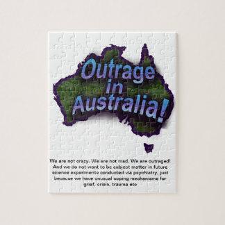 ¡Ultraje en Australia! Rompecabezas