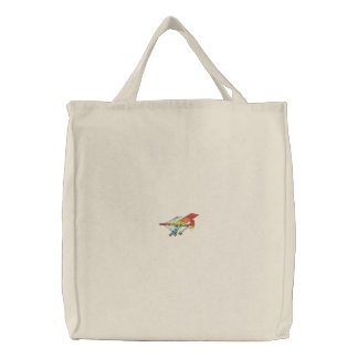 Ultralight Embroidered Tote Bag