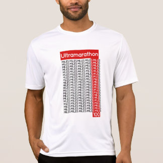 ULTRAMARATHON 100 miles   smile T-Shirt