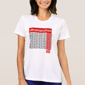 ULTRAMARATHON 50 miles | smile T-Shirt