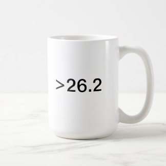 Ultramarathon mug