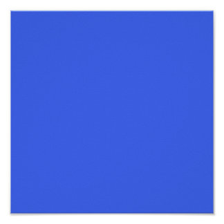 Ultramarine Blue Posters