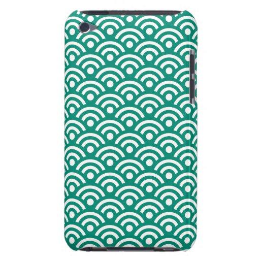Ultramarine Green iPod Touch G4 Case