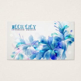 Ultramarine Lily Business Card