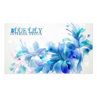 Ultramarine Lily Business Card