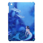 Ultramarine Mermaid Case Savvy iPad Mini Case