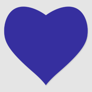 Ultramarine Heart Sticker