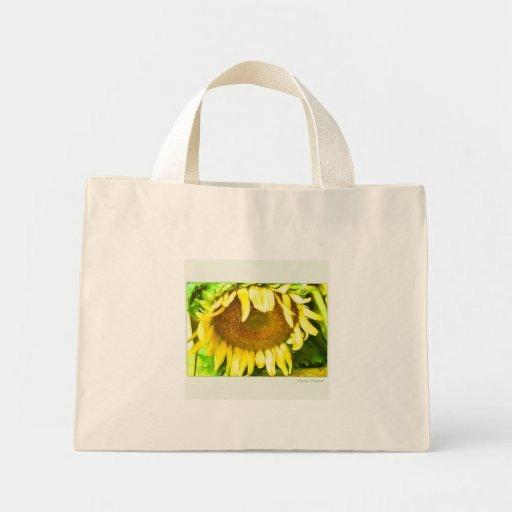 ultramarinos BG, flor de Sun Bolsa Tela Pequeña