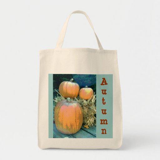 Ultramarinos del otoño bolsa de mano