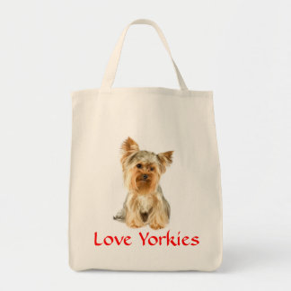 Ultramarinos Totebag de Yorkies Yorkshire Terrier  Bolsa De Mano