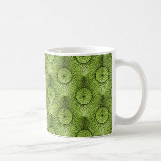 Ultramodern Chic Mug, Olive Green Coffee Mug