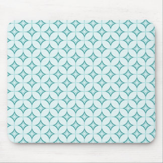 Ultramodern Sophistication Mousepad, Turquoise Mouse Pad