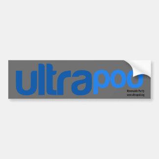 ULTRApod Bumper Sticker