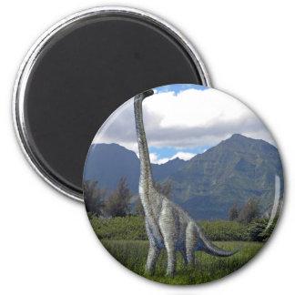 Ultrasarus Dinosaur 2 Inch Round Magnet