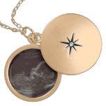 Ultrasound Custom Photo Necklace Round Locket Necklace