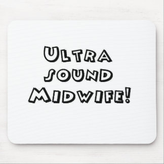 ultrasound midwife mouse pad