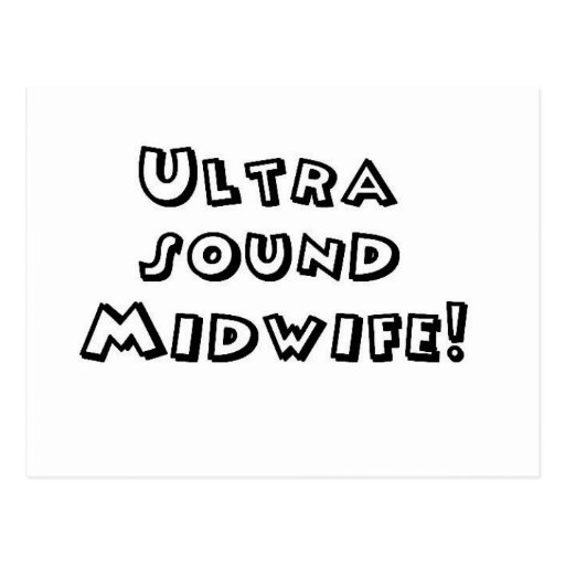 ultrasound midwife post cards