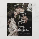 Ultrasound Photo Script Coming Soon Pregnancy Announcement Postcard
