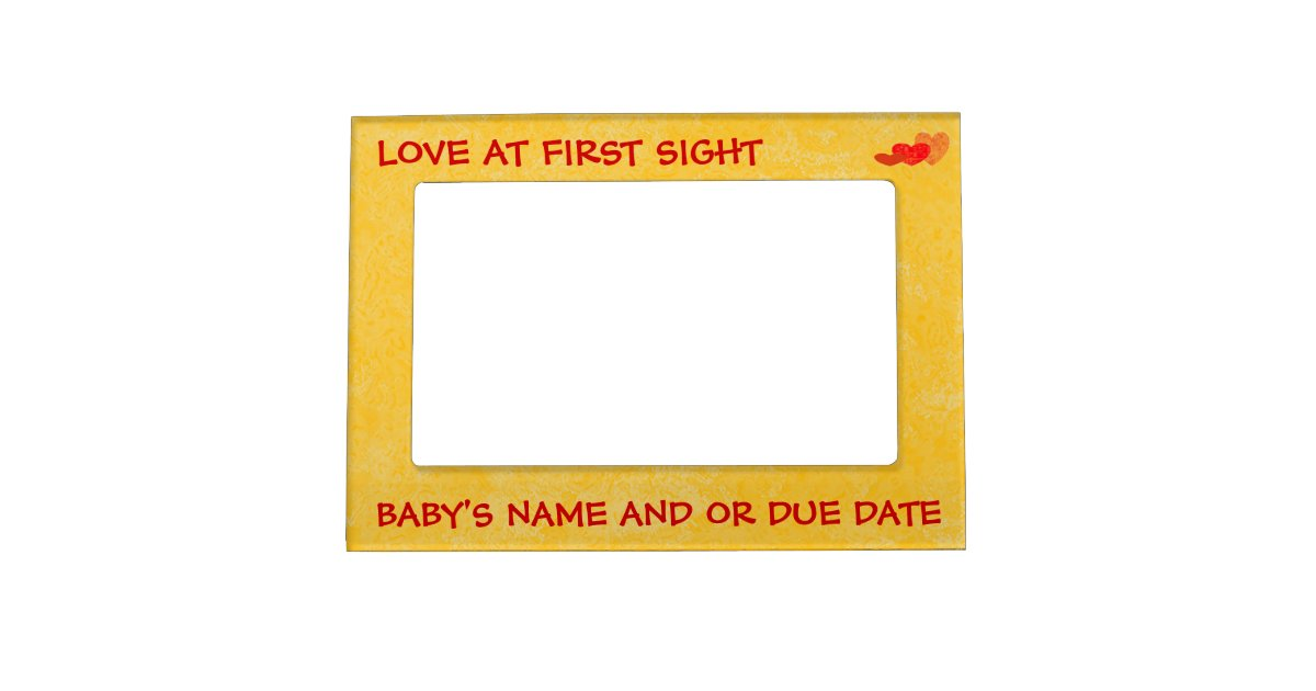 Ultrasound / Sonogram Frame - Magnetic | Zazzle.com
