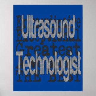 Ultrasound Technologist Extraordinaire Poster