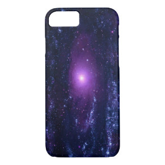 Ultraviolet Andromeda Galaxy Messier 31NGC 224 iPhone 8/7 Case