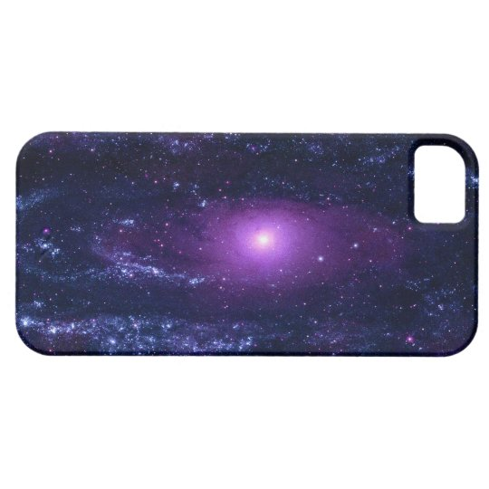 Ultraviolet Andromeda Galaxy Messier 31NGC 224 iPhone SE/5/5s Case