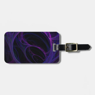 Ultraviolet Arteries Tag For Bags
