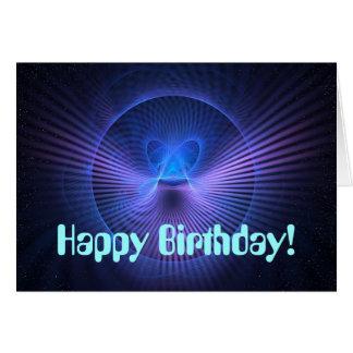 Ultraviolet Birthday Card