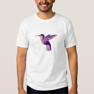 Ultraviolet Garden Hummingbird Tee Shirt