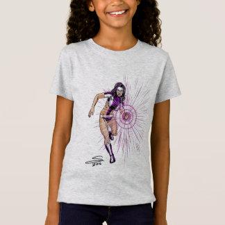 Ultraviolet Girls' Fine Jersey T-Shirt