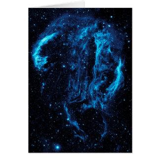 Ultraviolet image of the Cygnus Loop Nebula Card