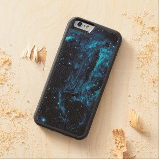 Ultraviolet image of the Cygnus Loop Nebula Carved® Maple iPhone 6 Bumper Case