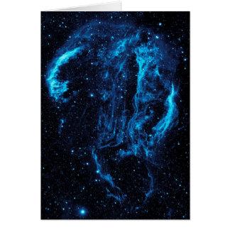 Ultraviolet image of the Cygnus Loop Nebula crop Card