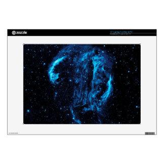 Ultraviolet image of the Cygnus Loop Nebula crop Laptop Skins