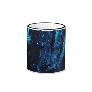 Ultraviolet image of the Cygnus Loop Nebula crop Coffee Mugs