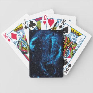 Ultraviolet image of the Cygnus Loop Nebula crop Bicycle Poker Cards