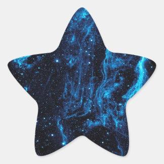 Ultraviolet image of the Cygnus Loop Nebula crop Star Sticker