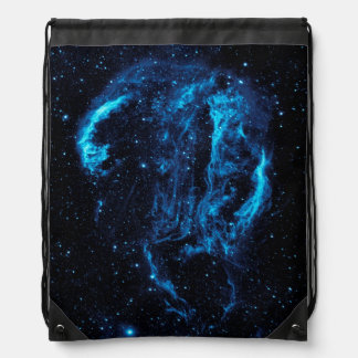 Ultraviolet image of the Cygnus Loop Nebula Drawstring Backpack