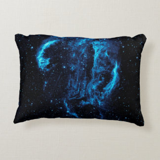 Ultraviolet image of the Cygnus Loop Nebula Accent Pillow