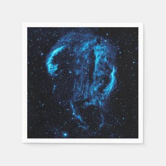 Ultraviolet image of the Cygnus Loop Nebula Standard Cocktail Napkin