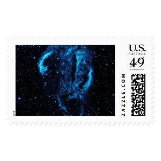 Ultraviolet image of the Cygnus Loop Nebula Postage