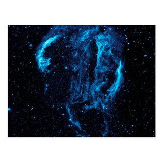 Ultraviolet image of the Cygnus Loop Nebula Postcard