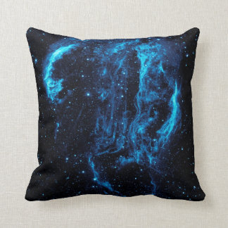 Ultraviolet image of the Cygnus Loop Nebula Throw Pillow