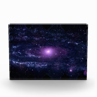 Ultraviolet Purple Andromeda Galaxy Space Awards
