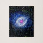 Ultravioleta de la nebulosa de la hélice rompecabeza con fotos